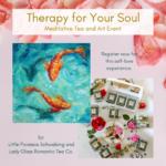 Tea tasting, tea meditation, art therapy