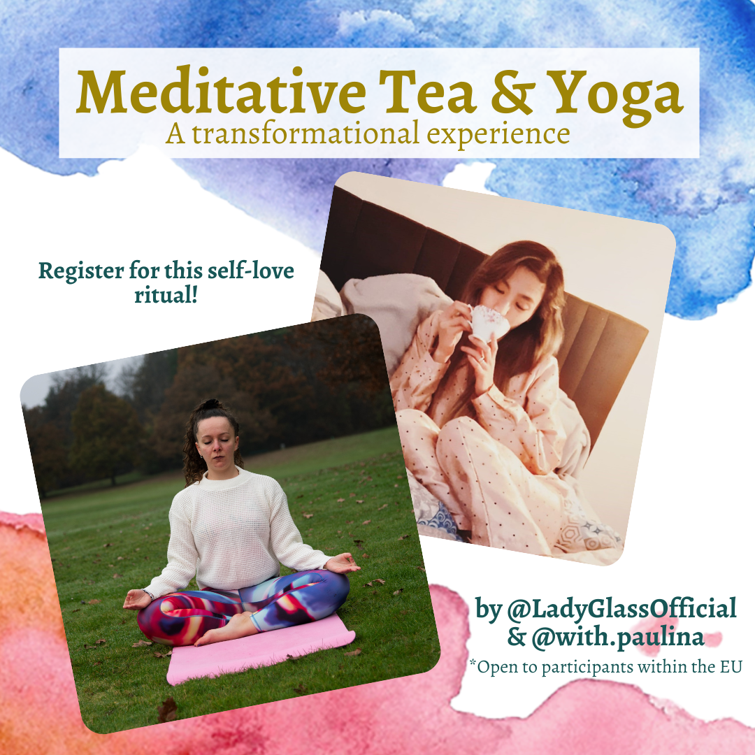 Tea meditation, yoga